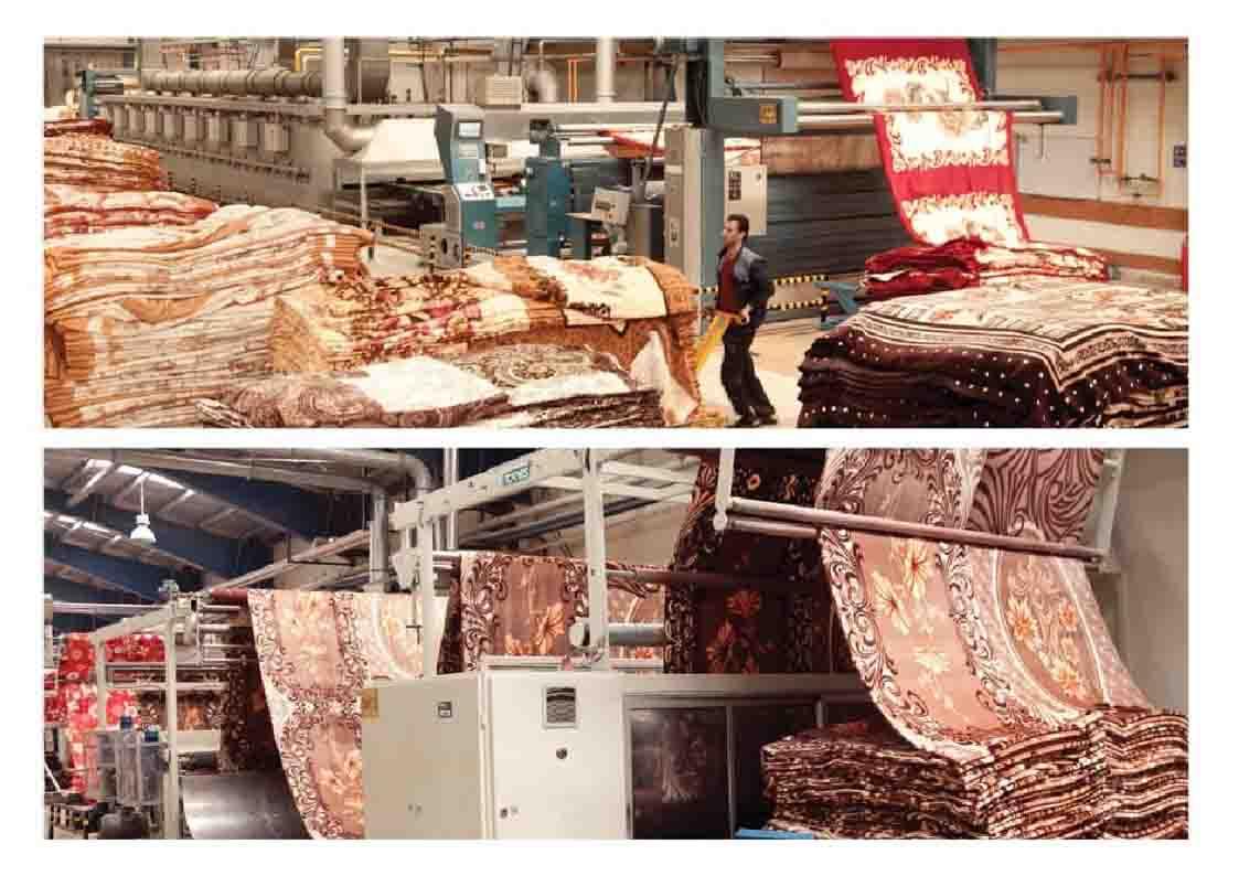 کارگاه تولید پتو